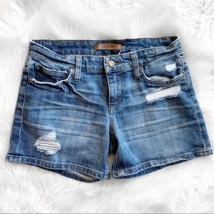 Joes Jeans Gessa Distressed Shorts S1266